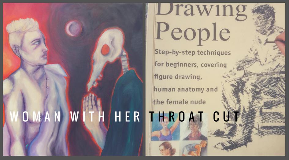 woman throat cut